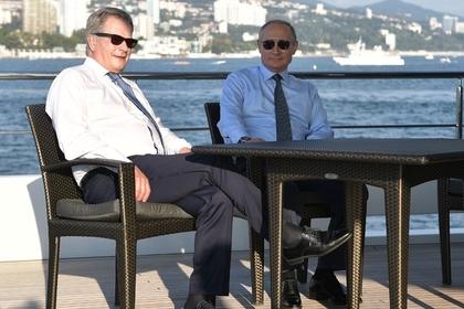 Путин пригласил финского президента покататься на яхте