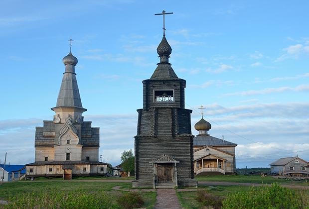 Успенская церковь в селе Варзуга
