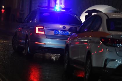 Неизвестный обстрелял полицейских в Москве