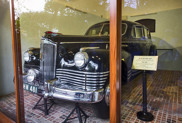 Машины, на которых ездил Хо Ши Мин