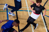 Броские футболки Training Colorblocked подойдут и для юных баскетболистов, и для начинающих футболистов, а в кроссовках Rapidarun Knit и UltraBoost можно поставить рекорд школы по бегу.