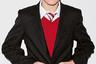 Британский масс-маркетный бренд Next одевает школьников по всему миру по старой английской традиции: темный блейзер, яркий контрастный трикотажный жилет. И, конечно, галстук цветов колледжа!