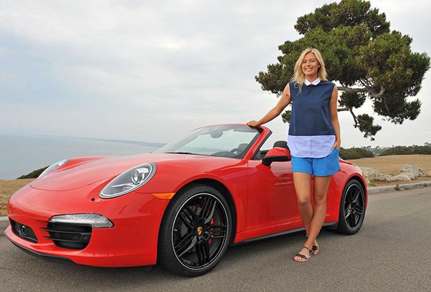 Maria Sharapova – A.W./Porsche Photoshoot / Manhattan Beach (2013)