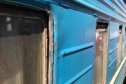 «Москва-Херсон»: вСети высмеяли дырявый украинский поезд