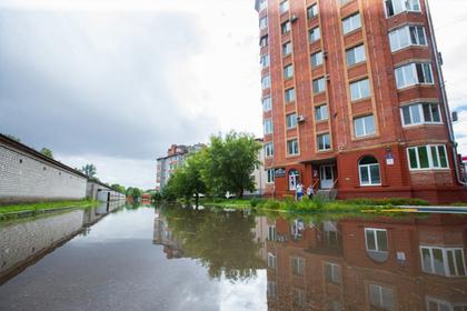 Тайфун затопил Приморье