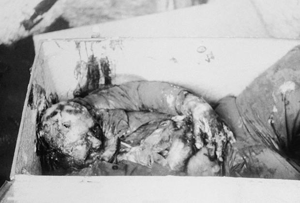 Тело Цукурса, уложенное в деревянный ящик, было найдено в марте 1965 года в пригороде Монтевидео, Уругвай