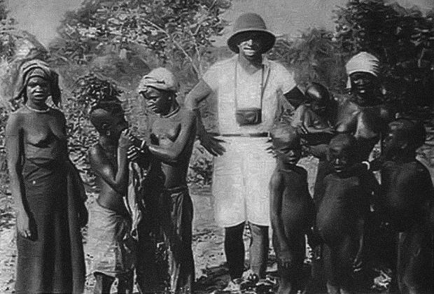 Герберт Цукурс в Гамбии, 1933 год
