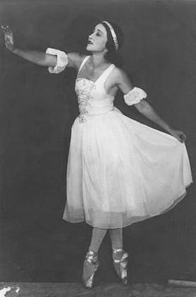 Уланова в балете «Бахчисарайский фонтан» (1934 год)
