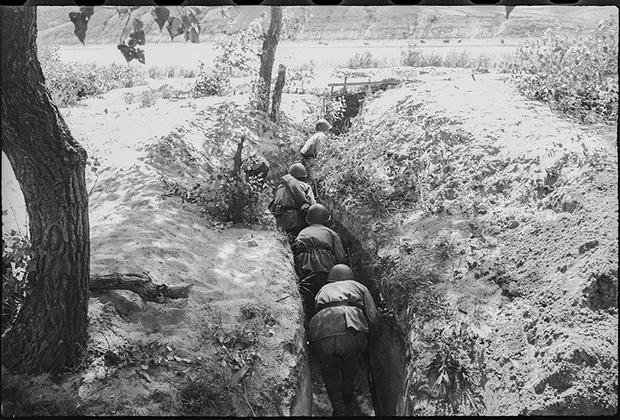 Сталинградский фронт. 1942 год.