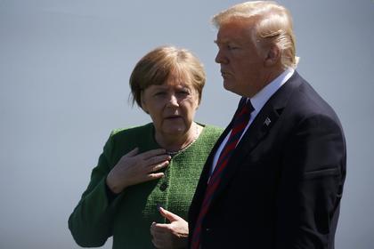 Меркель и Трамп попросили Россию повлиять на Дамаск