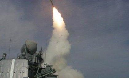 Минобороны показало видео ударов крылатыми ракетами