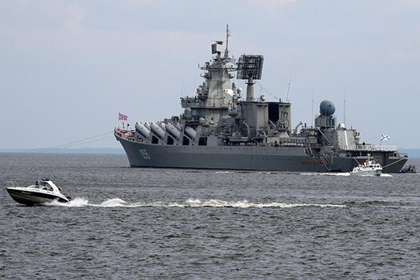 Крейсер «Маршал Устинов»