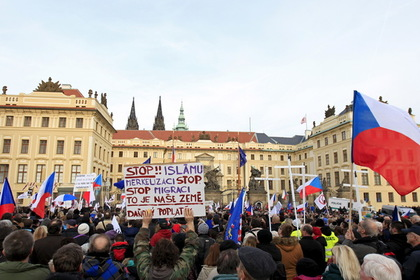 Чехия променяла беженцев на украинцев