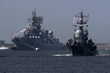 НАТО оценила российскую эскадру у берегов Сирии