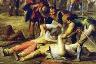 Корнелис де Валь «После одного из сражений Тридцатилетней войны»