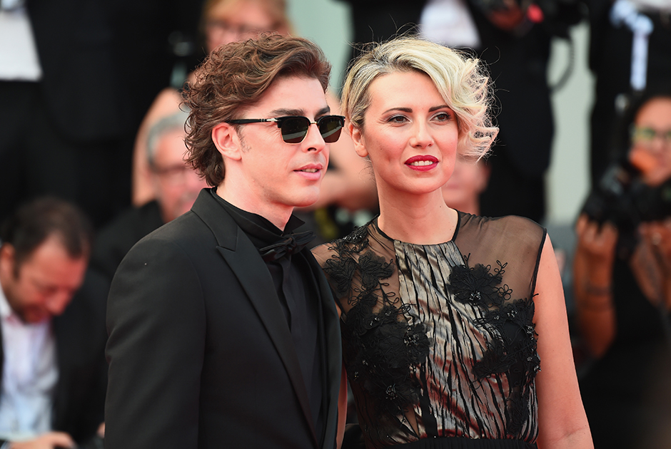 Итальянский актер Микеле Риондино и его девушка Ева Нестори