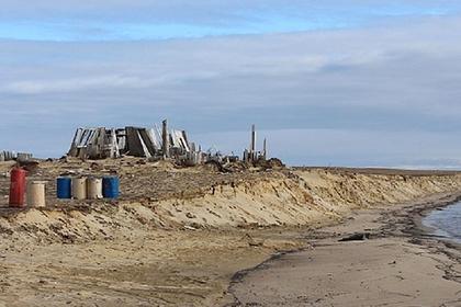 На арктическом острове Алджера прошли первые археологические раскопки