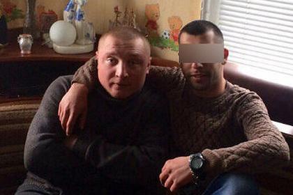 Антон Жданов (слева)