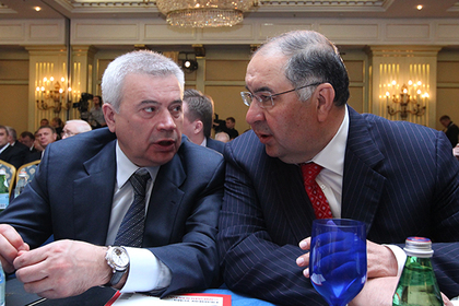 Вагит Алекперов и Алишер Усманов