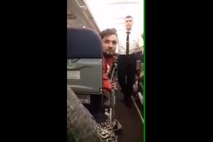 Раскрыты подробности дебоша таджика на рейсе Москва— Душанбе