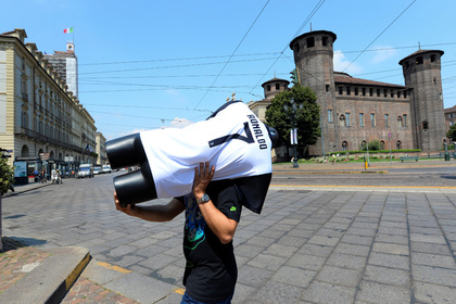 Продавец в Турине