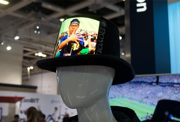 Шляпа с экраном