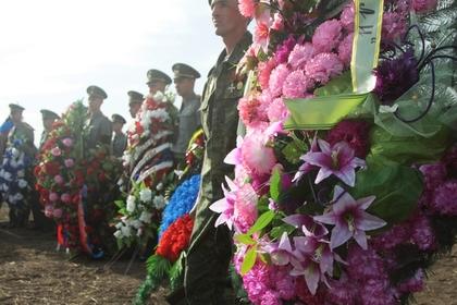 Церемония похорон Александра Захарченко