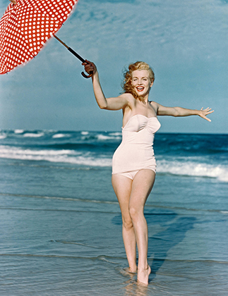Мэрилин Монро в начале 1950-х