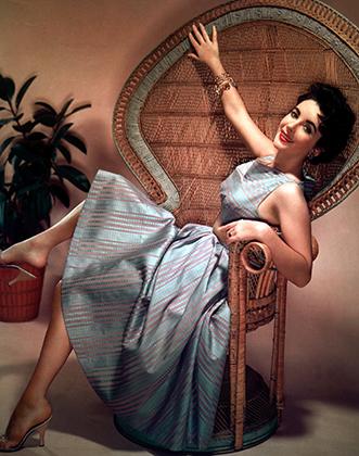 Элизабет Тейлор в 1950 году