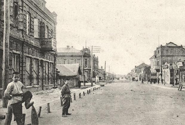 Дореволюционный Харбин. Город был основан в 1898 году русскими строителями Китайской Восточной железной дороги