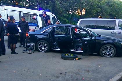 В центре Екатеринбурга из автомата Калашникова обстреляли Audi