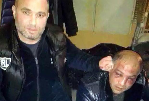 Расправа над Алиевым в СИЗО. Слева — киллер Назим Хромой