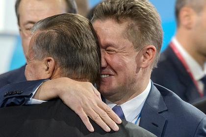 Виктор Зубков и Алексей Миллер