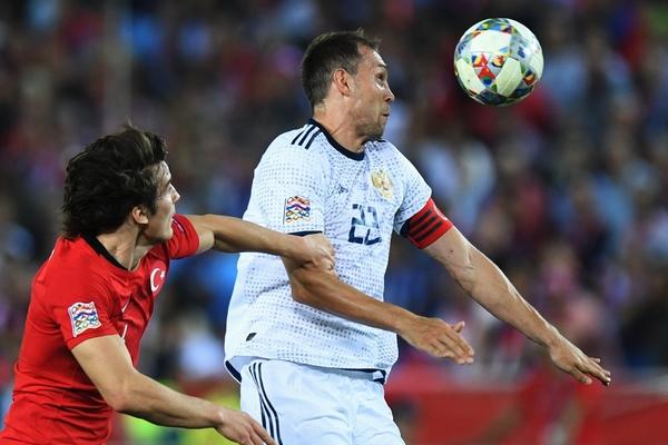 Россия обыграла Турцию в матче Лиги наций