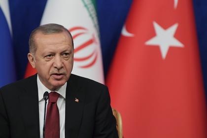 Эрдоган выразил желание увидеться сПутиным после визита вГерманию