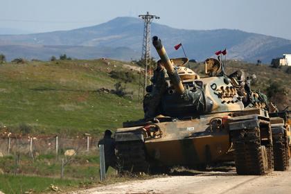 Турция наращивает силы на границе с Сирией для сдерживания России