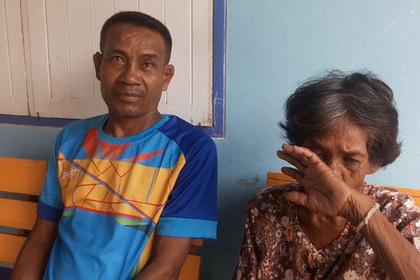 Сомсук Сомин  и его мать