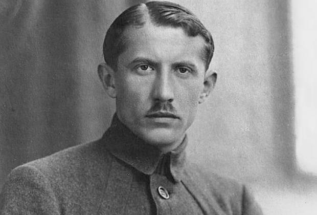 Евгений Коновалец, будущий командир ОУН