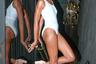 Большая часть коллекции Ladyship Swim состояла из бикини, но нашлось место и классическому слитному купальнику total white.