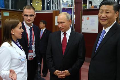 Путин стал вожатым