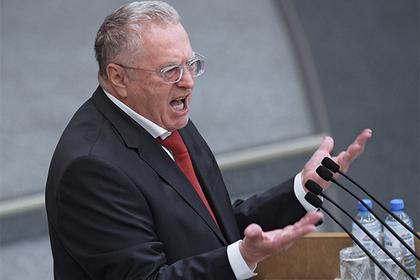 Жириновский на телешоу Соловьева обещал вымазать депутата фекалиями