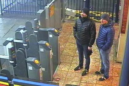 Великобритания отреагировала на интервью подозреваемых в отравлении Скрипалей