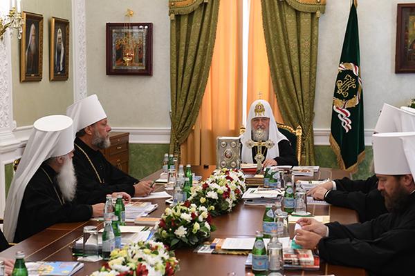 РПЦ ответила на действия Константинополя на Украине