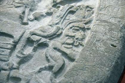 Найден принадлежащий майя редкий артефакт