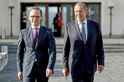 Хайко Маас и Сергей Лавров