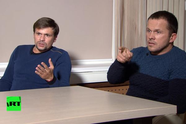 Россия назвала дезинформацией данные о связях Боширова и Петрова со спецслужбами
