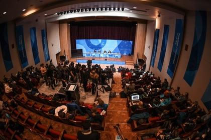 Пресс-конференция WADA