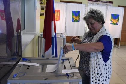 В Приморье отметили рост явки во втором туре выборов главы региона