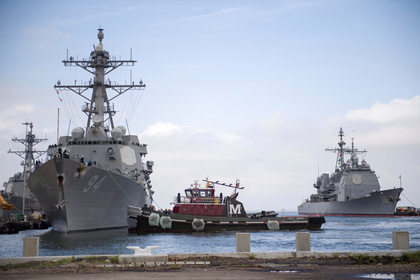 Боевые корабли НАТО подобрались к Сирии