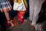 Некоторые дизайнеры решили быть ближе к земле, поэтому обувь на показе Fashion East напоминала проросшие соевые бобы.